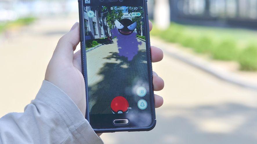 Pokemon Go na smartfonie Xiaomi z depositphotos