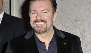 Ricky Gervais kąpał się w... proszku do prania
