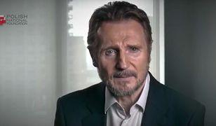 Hollywoodzki aktor Liam Neeson w kampanii Polskiej Fundacji Narodowej mówi o znaczeniu Bitwy Warszawskiej.