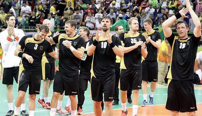 9ea86a669 WP SportoweFakty / Łukasz Trzeszczkowski / Reprezentacja Niemiec w piłce  ręcznej mężczyzn