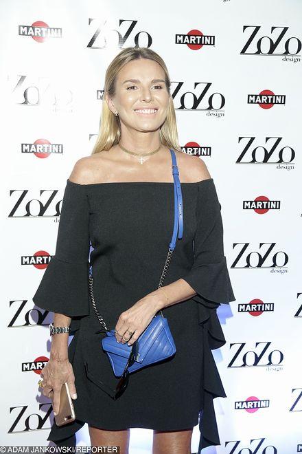 Hanna Lis na premierze kolekcji Zozo Design