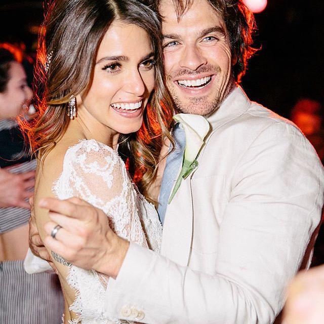 Nikki Reed wyglądała na ślubie olśniewająco!
