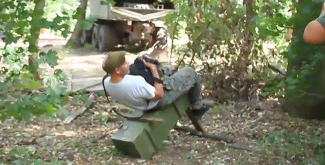 Leśna siłownia i uprawa ogórków. Tak relaksują się ukraińscy żołnierze