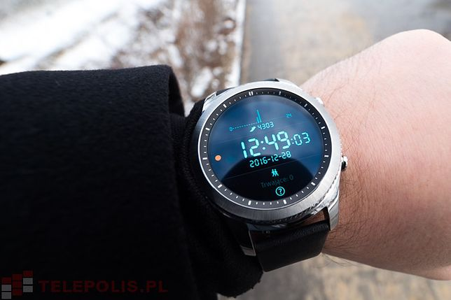 Samsung Gear S3 Classic - test smartwatcha