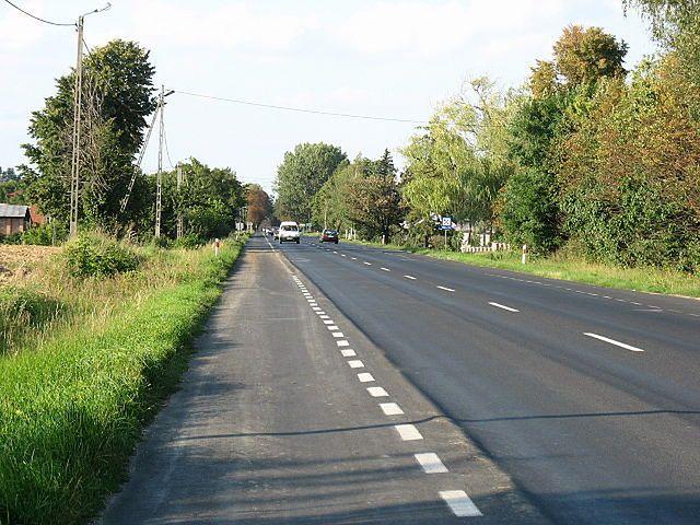 Droga krajowa nr 9 rozpoczyna się w Radomiu i prowadzi do Rzeszowa