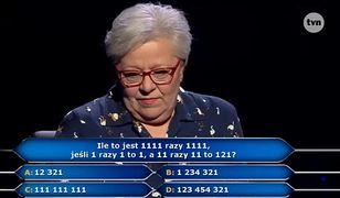 Finalne pytanie w teleturnieju.