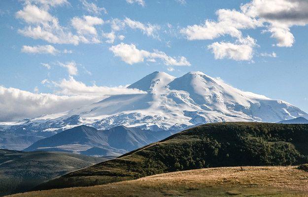 Elbrus, najwyższy szczyt Kaukazu