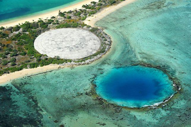 Kopuła Cactus Dome w atolu Enewetak na Wyspach Marshalla
