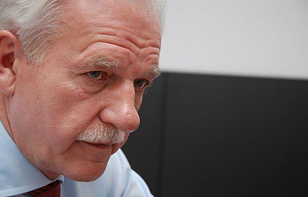 Olechowski: polski rząd nie ma sojuszników