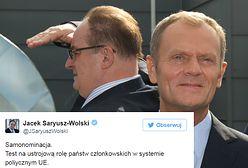 """Kandyduje na stanowisko przewodniczącego i... nie ma pojęcia o procedurach. """"Samozaoranie"""" Saryusza-Wolskiego"""