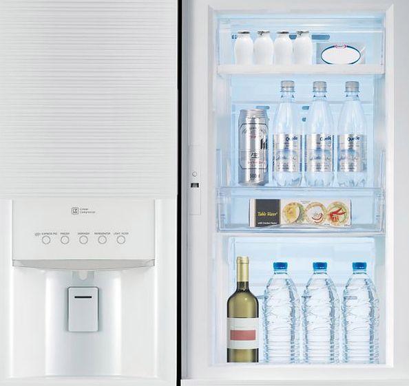 Lodówka LG Smart Eco Door z podwójnym systemem drzwi