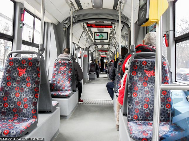 Łódź. Atak na kontrolera w tramwaju