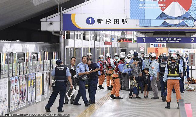 Poważny wypadek pociągu autonomicznego w japońskiej Jokohamie