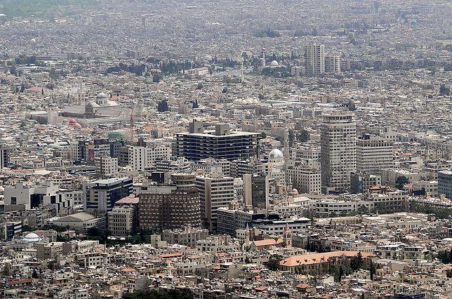 Rakiety spadły w rejonie Damaszku