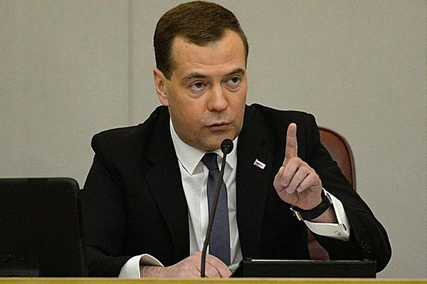 Miedwiediew ostrzega Ukrainę: te decyzje będą mieć skrajnie negatywne następstwa