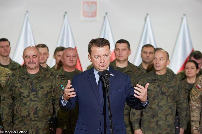Mariusz Błaszczak o liście ambasador USA: nieporozumienie wynikające z braku doświadczenia dyplomatycznego