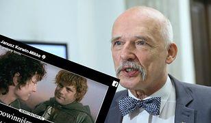 Korwin-Mikke przesadził? Porównał uchodźców do wściekłych orków