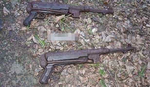 Nielegalny arsenał broni odkryty w szopie