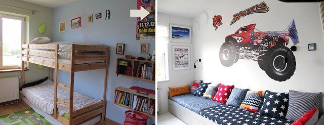 Kolorowy pokój dziecięcy. Aranżacje