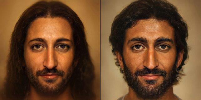 Portret Jezusa Chrystusa z wykorzystaniem algorytmów AI