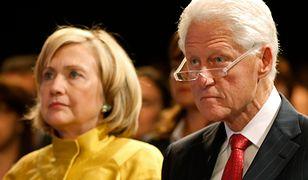 Podejrzana paczka w rezydencji Clintonów