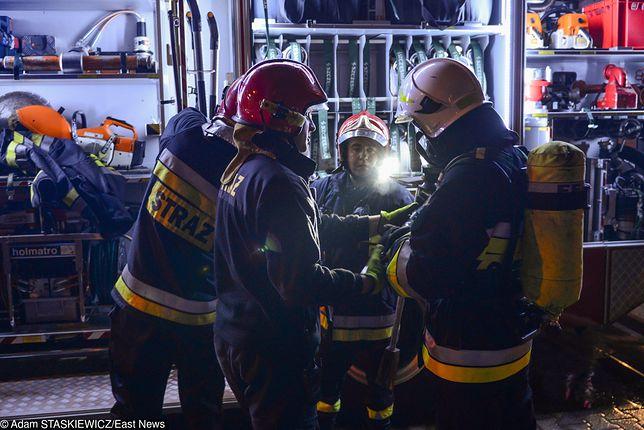 Pożaru nie przeżyła jedna osoba