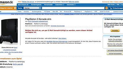 PlayStation 3 Konsole slim na Amazon.de, tym razem ze zdjęciem