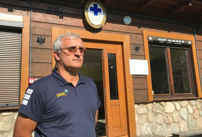 Krzysztof Długopolski, ratownik TOPR