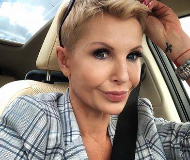 Joanna Racewicz jest samotną matką