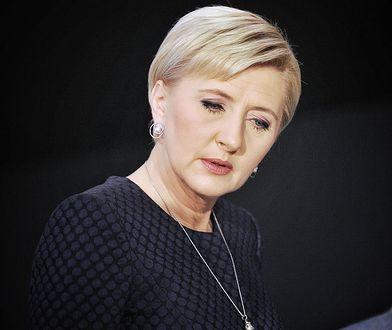 Agata Duda w centrum uwagi