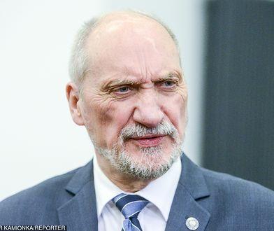Macierewicz: armia europejska jest sprzeczna z ideą UE niepodległych narodów