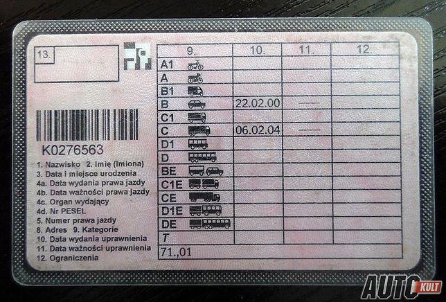 Prawo jazdy