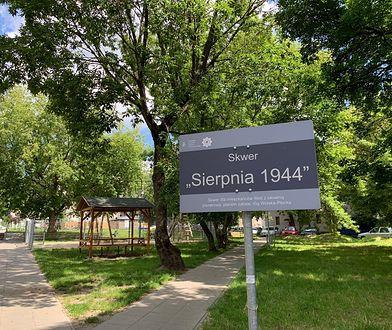 """Warszawa. Skwer """"Sierpnia 1944"""" na Wolima już oficjalną nazwę"""