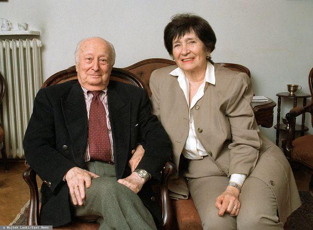Władysław Szpilman z żoną Haliną
