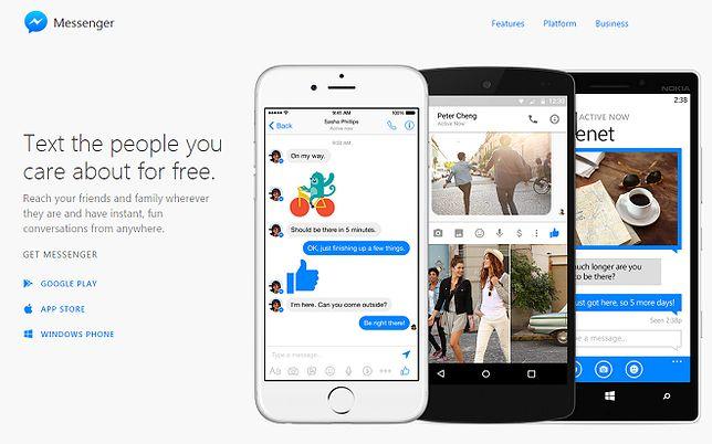 Messenger doczekał się dedykowanej aplikacji webowej