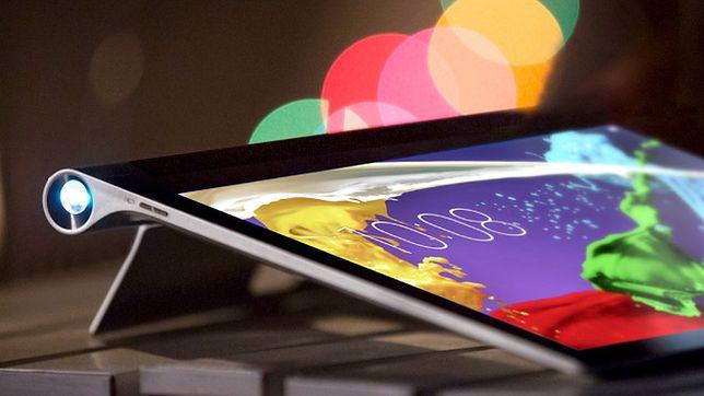 Lenovo YOGA Tablet 2 Pro - projektor w tablecie