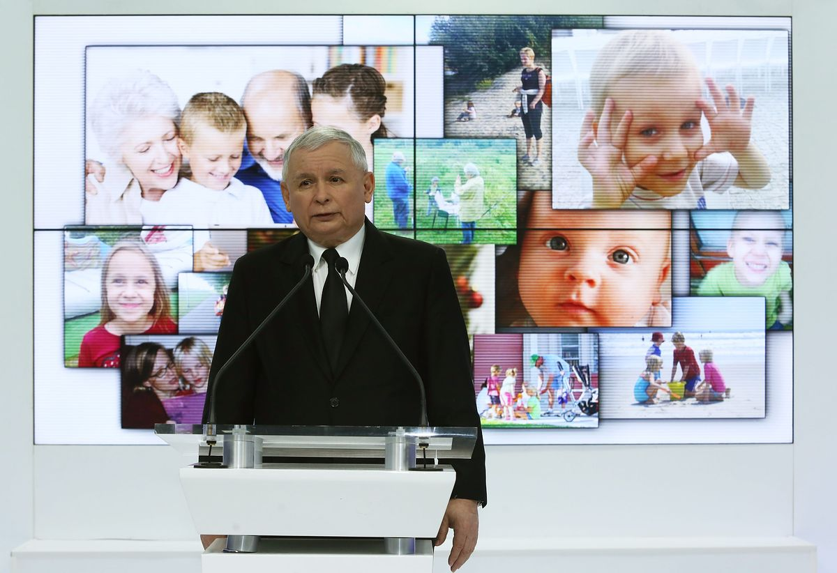 Kaczyński chce ratować dzieci. Tylko nie wie przed czym