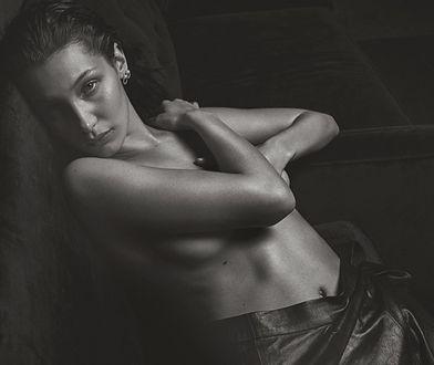 Bella Hadid jak Kate Moss w obiektywie Mario Sorentiego