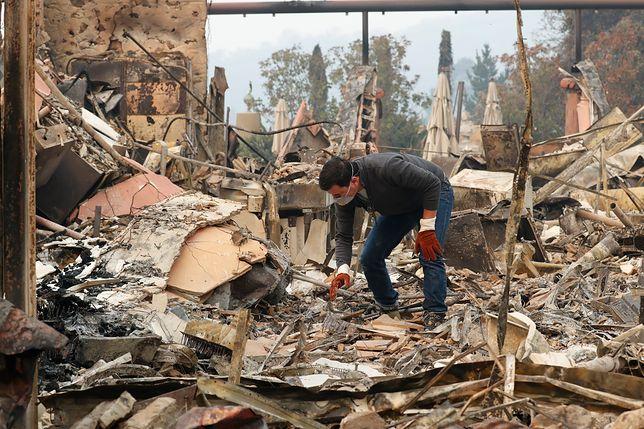 W najbliższych dniach spodziewane są w Kalifornii silne wiatry utrudniające gaszenie pożarów