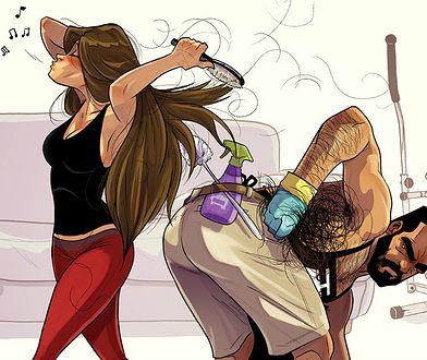 Jehuda Devir jest grafikiem. Pewnego dnia po pracy zaczął rysować sceny z życia ze swoją dziewczyną, Mayą.