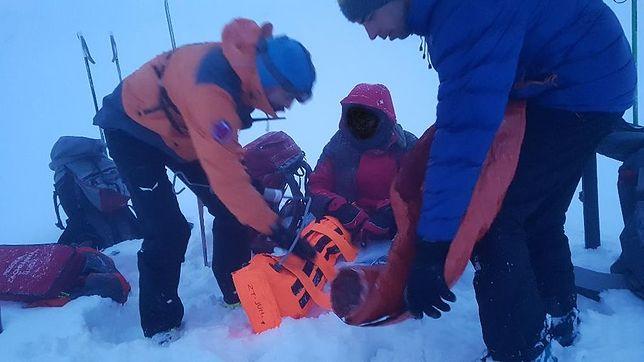 Polak spadł ze szlaku w Tatrach. Uratowali go Słowacy