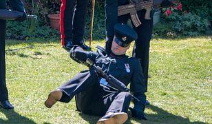 Niepokojące sceny podczas pogrzebu księcia Filipa