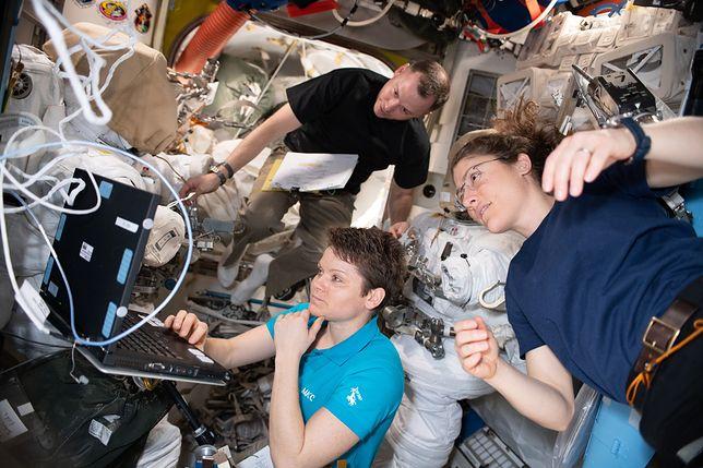 NASA rezygnuje z kosmicznego spaceru kobiet. Powód jest kuriozalny