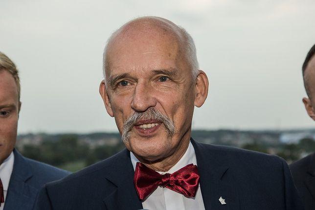 Lider partii Wolność, Janusz Korwin-Mikke