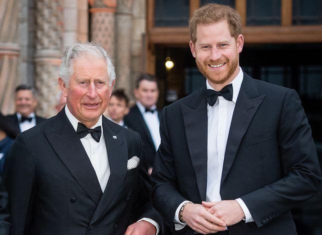 Książę Harry w końcu spotkał się z ojcem