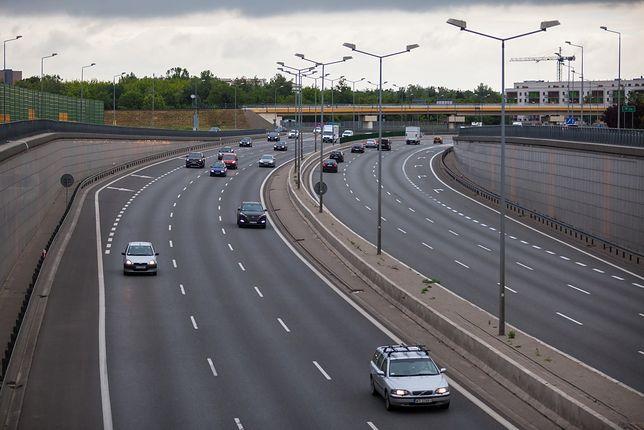 Warszawa. Na trasę S8 wylała się glina [zdj. ilustracyjne]