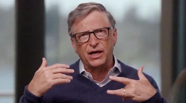 Bill Gates udzielił wywiadu na temat pandemii koronawirusa