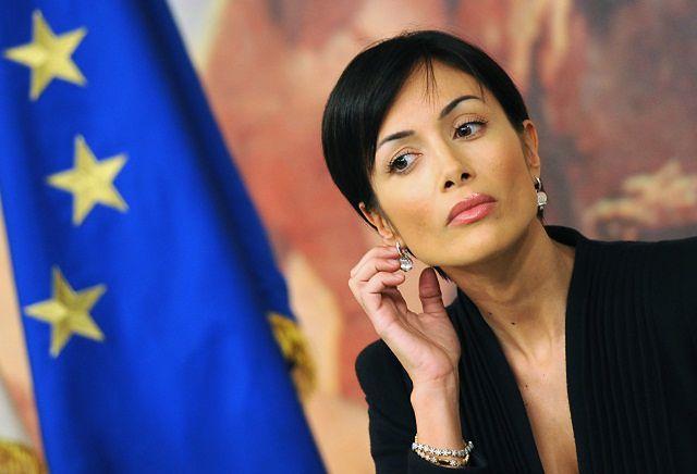 Mara Carfagna - najpiękniejsza minister na świecie