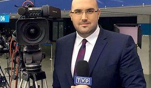 """Jarosław Olechowski, nowy szef """"Wiadomości"""" TVP."""