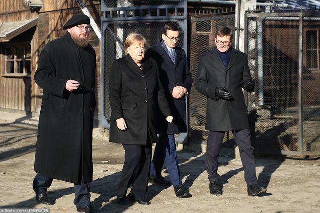 """Angela Merkel w Auschwitz. """"Był to niemiecki obóz śmierci"""""""